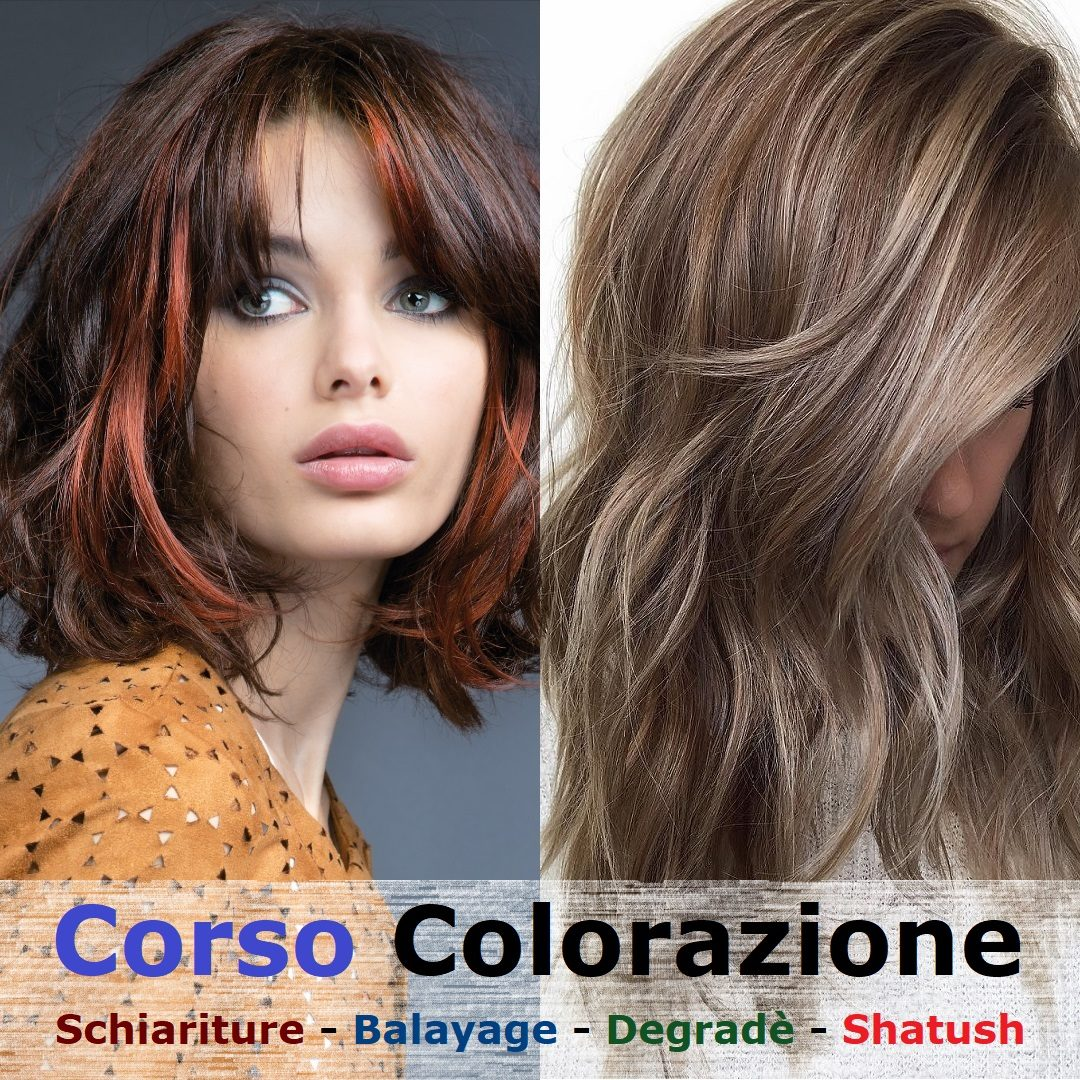 Corso colore e schiariture capelli